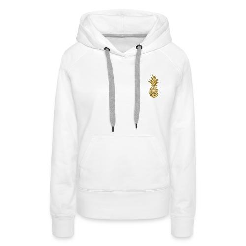 pineapple gold - Women's Premium Hoodie
