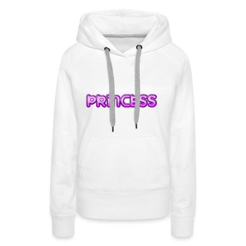 Prinzessin süß niedlich Geschenk Geschenkidee Herz - Frauen Premium Hoodie