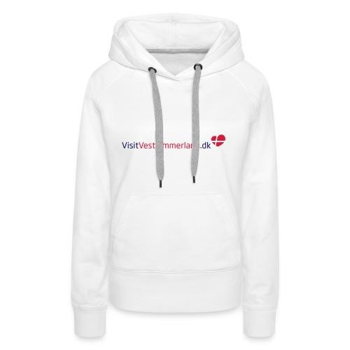 VVH_logo-eps - Dame Premium hættetrøje