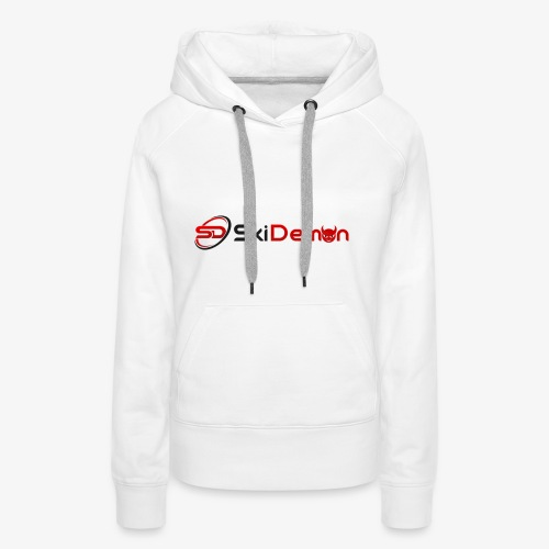 The Ski Demon - Women's Premium Hoodie