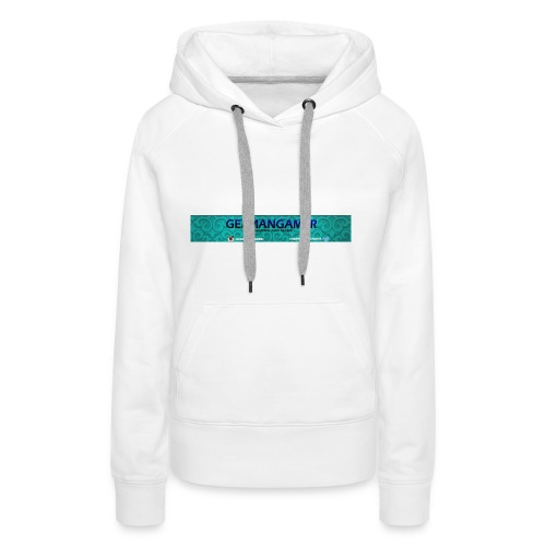 GERMANGAMER /NEW/ Collection - Frauen Premium Hoodie