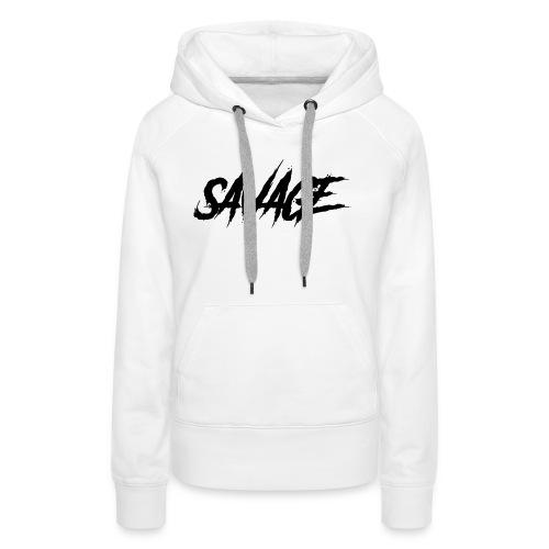 savage - Premiumluvtröja dam