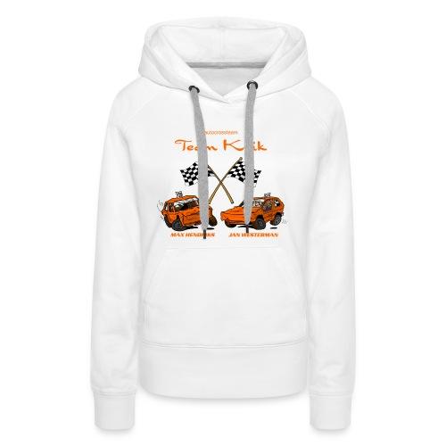 TP 138 TeamKrik definitief def - Vrouwen Premium hoodie