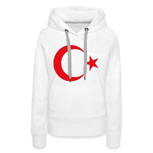 lphone 4/4S Turkey Case - Vrouwen Premium hoodie