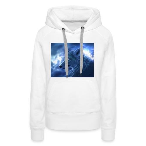 Arctic Wolf - Frauen Premium Hoodie