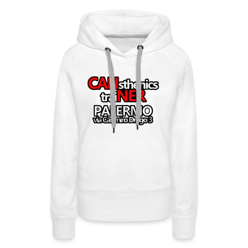 Caliner Palermo T-shirt - Felpa con cappuccio premium da donna