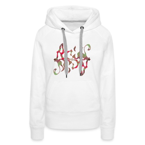 Acid_Design_2 - Frauen Premium Hoodie
