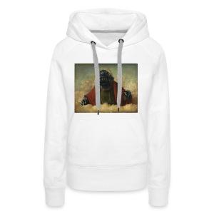 Godzilla - Sweat-shirt à capuche Premium pour femmes