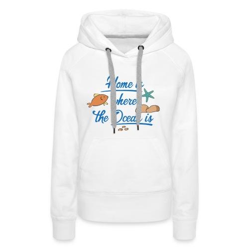 Tauchen - Frauen Premium Hoodie