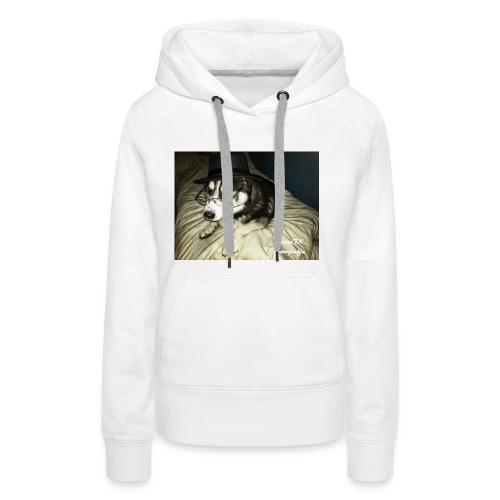 Husky möchte auch süßes oder saures - Frauen Premium Hoodie