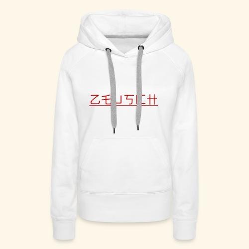 Zeusch Logo - Vrouwen Premium hoodie