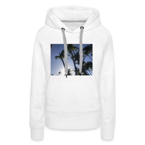 Karibik Palmen - Frauen Premium Hoodie
