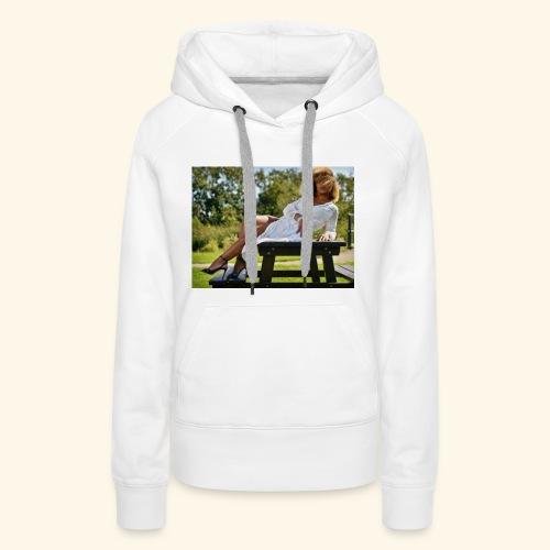 een foto van me mooie foto in Den Haag - Vrouwen Premium hoodie