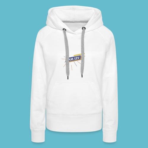 I AM LEV Banner - Vrouwen Premium hoodie