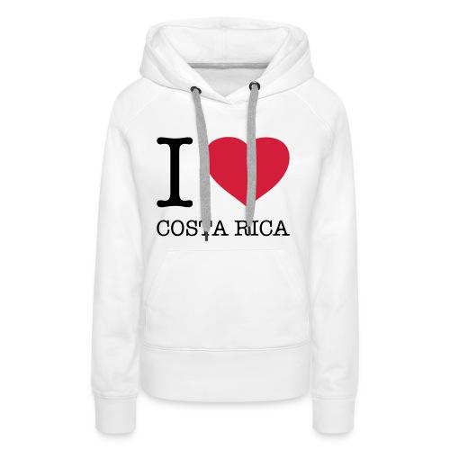 I love Costa Rica - Women's Premium Hoodie