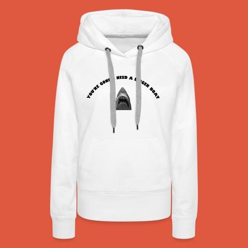 Jaws - Women's Premium Hoodie