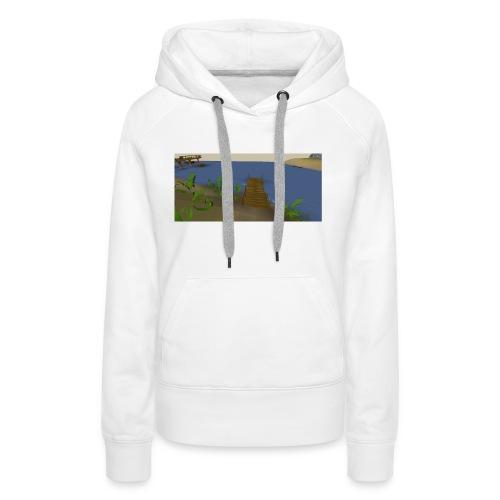 Fishing spot - Vrouwen Premium hoodie