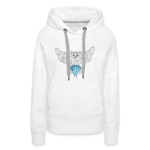 Dynamic Royal Owl-V Neck Tee - Premiumluvtröja dam