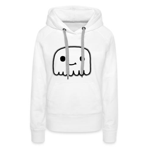 GhostCloth schlichter Geist - Frauen Premium Hoodie