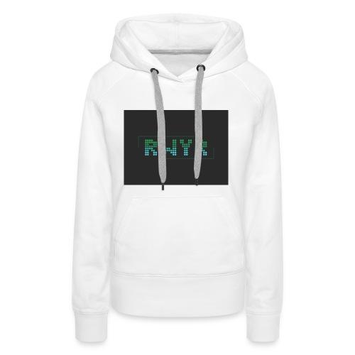 RWYR Borst Black - Vrouwen Premium hoodie