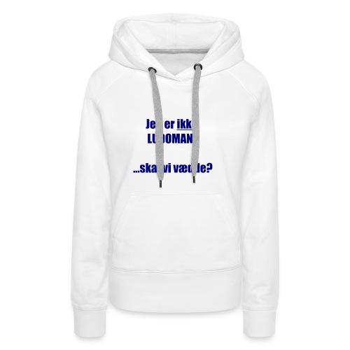 Ludoman_DK-jpg - Women's Premium Hoodie
