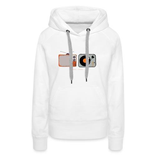 Audio / Visual - Women's Premium Hoodie