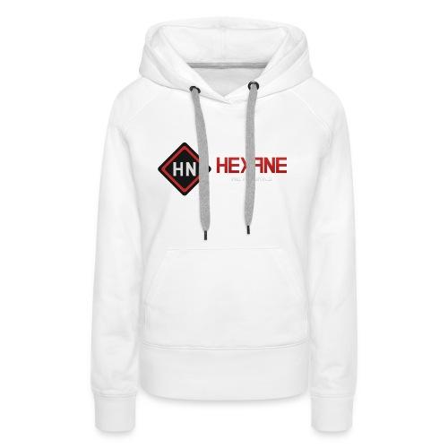 main righttext - Women's Premium Hoodie