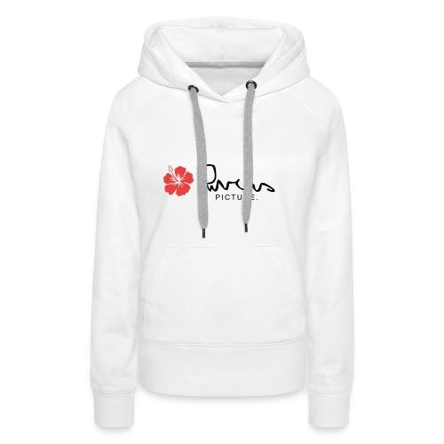Rivers picture design 1 - Sweat-shirt à capuche Premium pour femmes