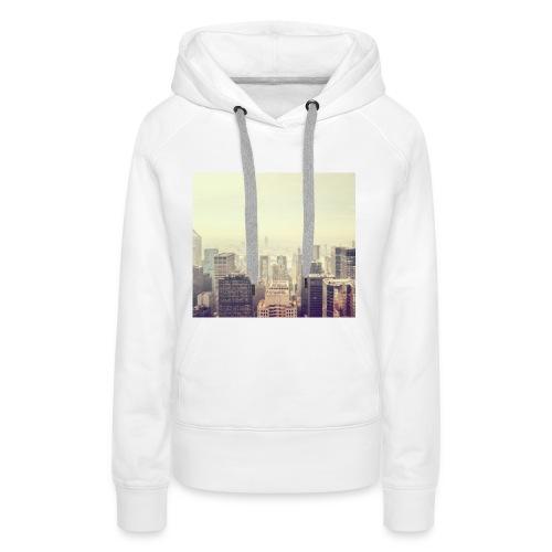 Beatiful City - Sudadera con capucha premium para mujer