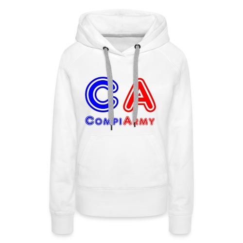 CompiArmy Design | bit.ly/compiarmyyt - Frauen Premium Hoodie