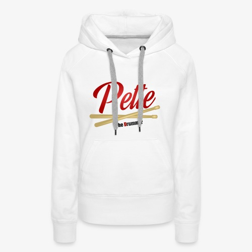 Pette the Drummer - Women's Premium Hoodie