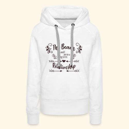 Beach Love - Vrouwen Premium hoodie
