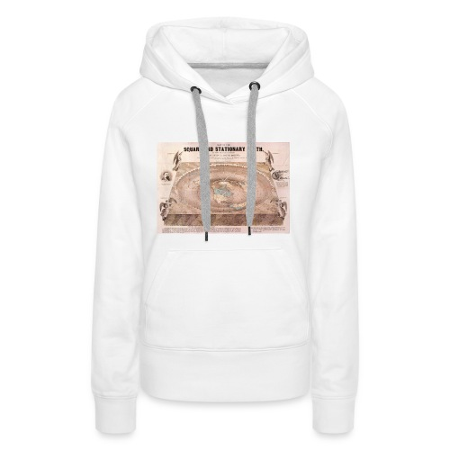 Earth in a square - Women's Premium Hoodie