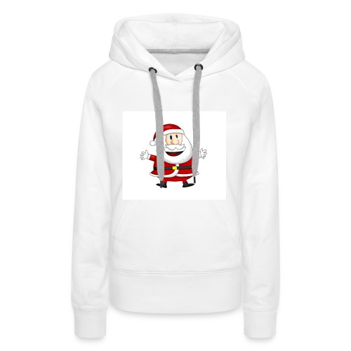 Happy-Santa-1--jpg - Vrouwen Premium hoodie