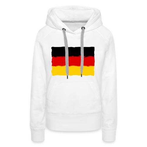 germany - Sudadera con capucha premium para mujer