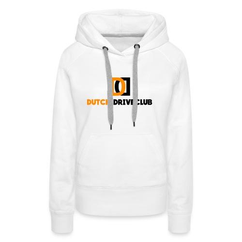 Dutch Driveclub logo - Vrouwen Premium hoodie
