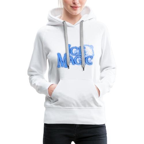 Ice Magic - Frauen Premium Hoodie