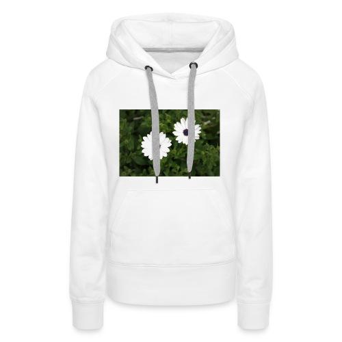 primaverapetalosa - Felpa con cappuccio premium da donna