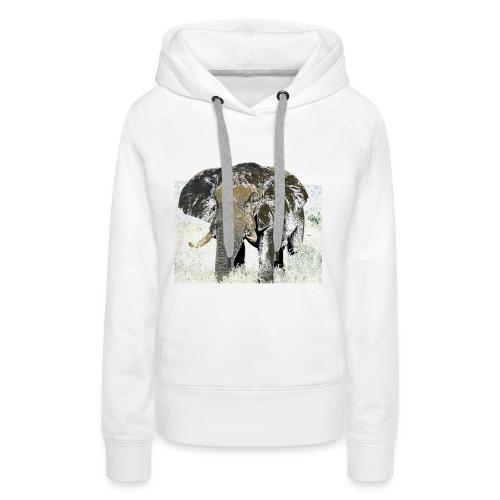 Elephant - Frauen Premium Hoodie