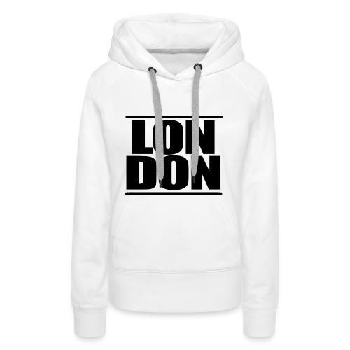 LON | DON Black - Women's Premium Hoodie