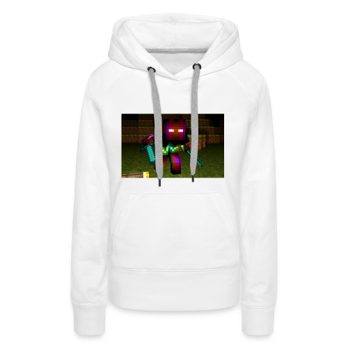 AwesomeSauce Minecraft 2 Swords - Women's Premium Hoodie