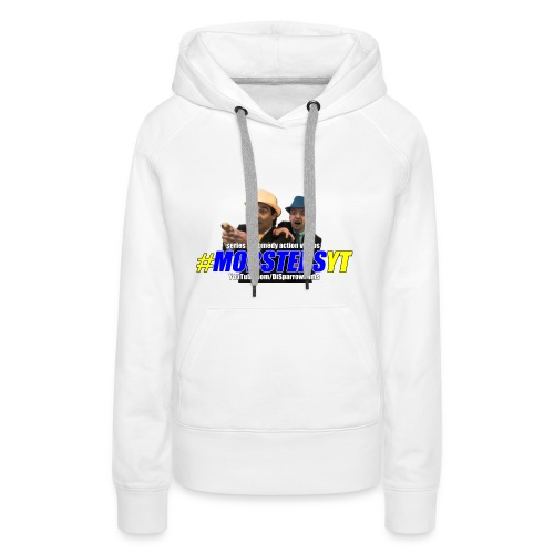 Official MOBSTERS logo and titles - Women's Premium Hoodie