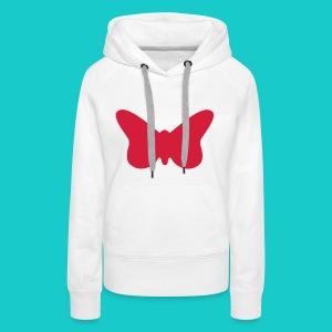 Butterfly sailing class logo - Frauen Premium Hoodie