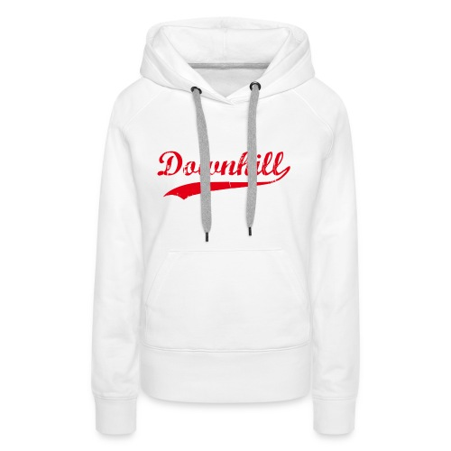 DHDLX Baseball Logo Rot Neu - Frauen Premium Hoodie