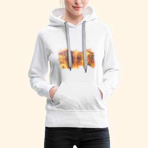 Boisé. FHuguenin-Virchaux. Scale 2ter copie - Sweat-shirt à capuche Premium pour femmes