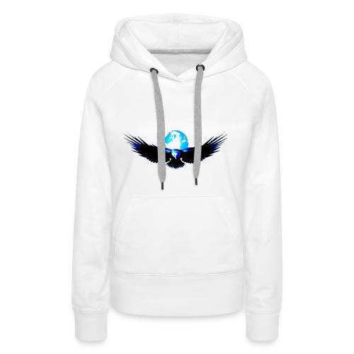 eagle earth - Vrouwen Premium hoodie