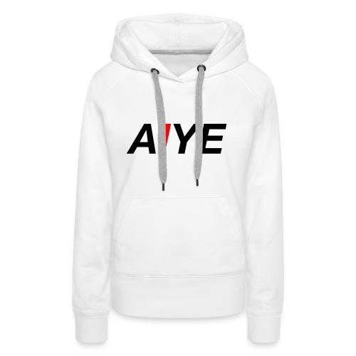 AIYE Basic Logo - Vrouwen Premium hoodie