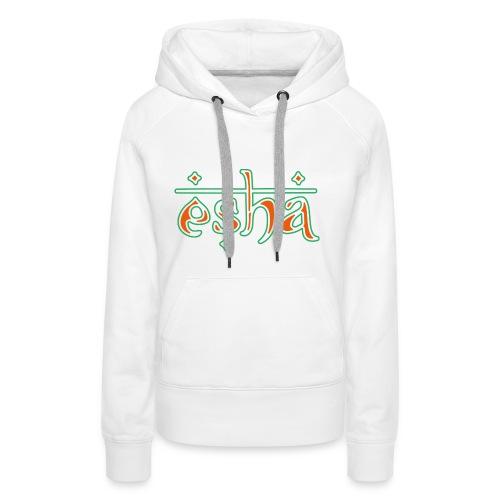 esha logo - Frauen Premium Hoodie