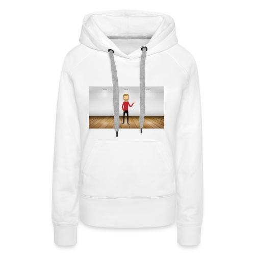 Youtubeman-png - Sudadera con capucha premium para mujer