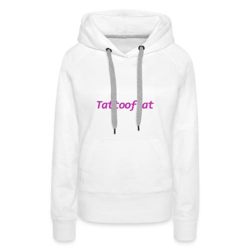 Tattooflat T-shirt - Women's Premium Hoodie